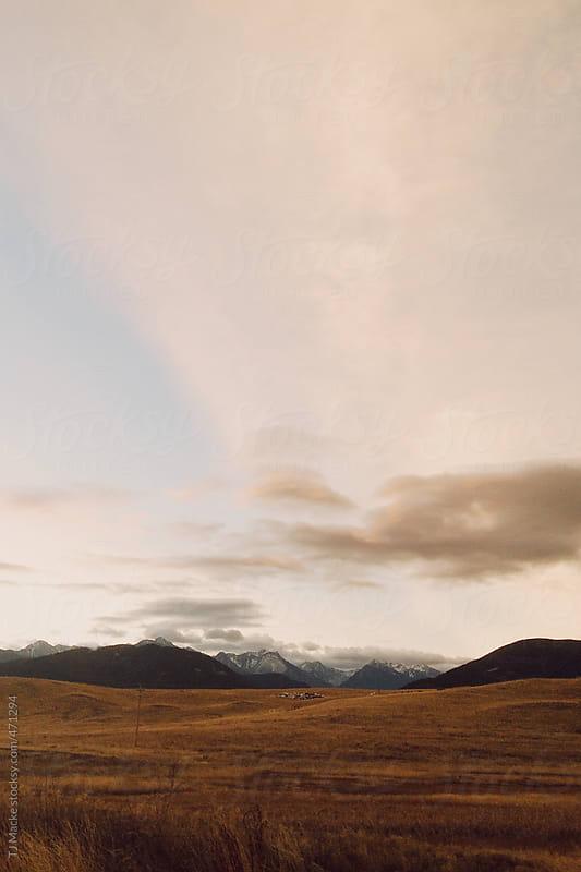 Montana horizon at sunrise by TJ Macke for Stocksy United