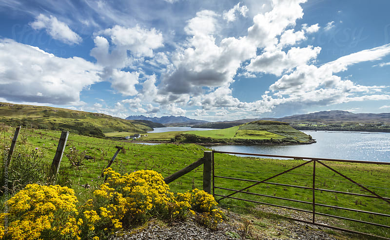 landscape on the isle of skye by Leander Nardin for Stocksy United