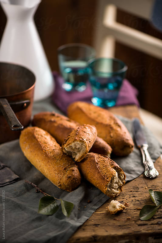 five cereal bread by Laura Adani for Stocksy United