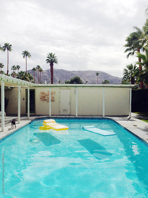 House with Pool in Palm Springs, California  by Jared Harrell for Stocksy United