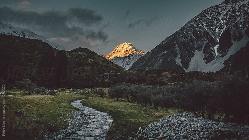 Around Mount Cook 2 by Peter Meciar for Stocksy United