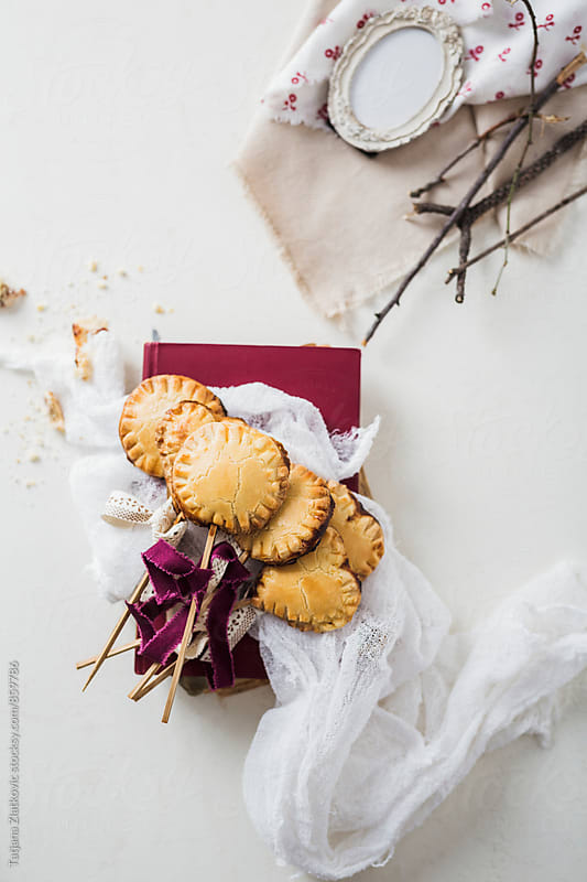 Homemade pie pops by Tatjana Zlatkovic for Stocksy United