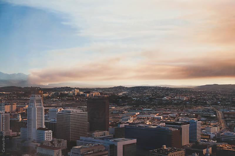 Colby Fire in Glendora, California by Carolyn Brandt for Stocksy United