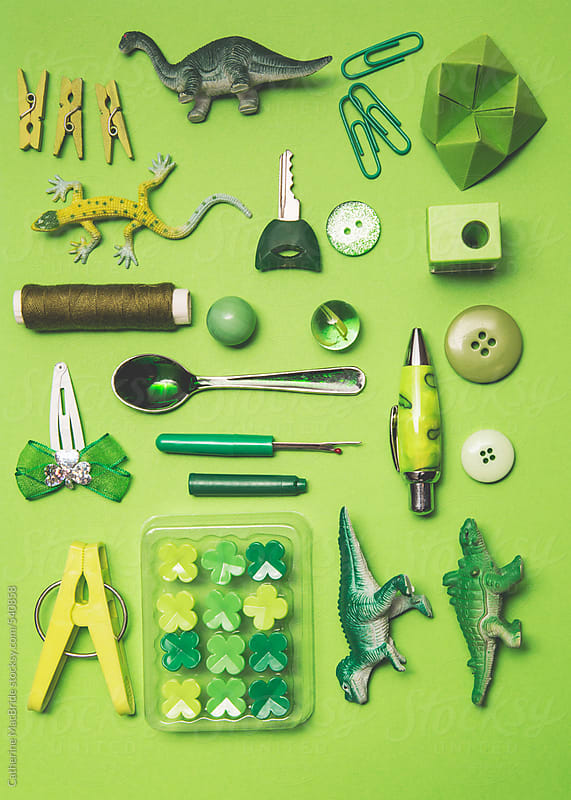 50 shades of green... by Catherine MacBride for Stocksy United