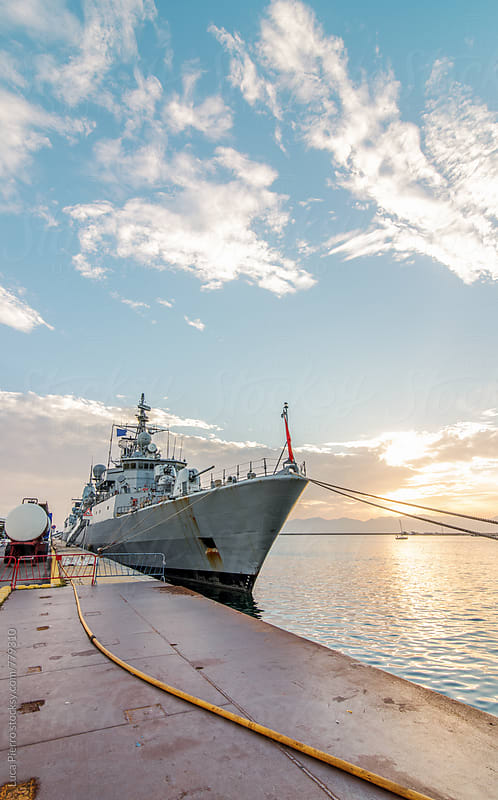 Warship  by Luca Pierro for Stocksy United