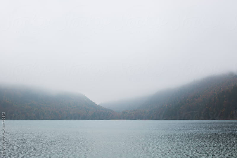 Fog Over the Lake by Mosuno for Stocksy United