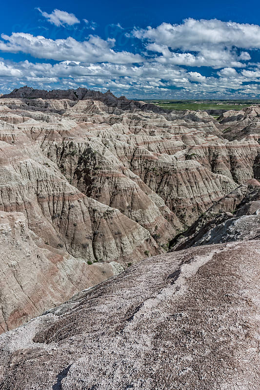 Badlands National Park by Adam Nixon for Stocksy United