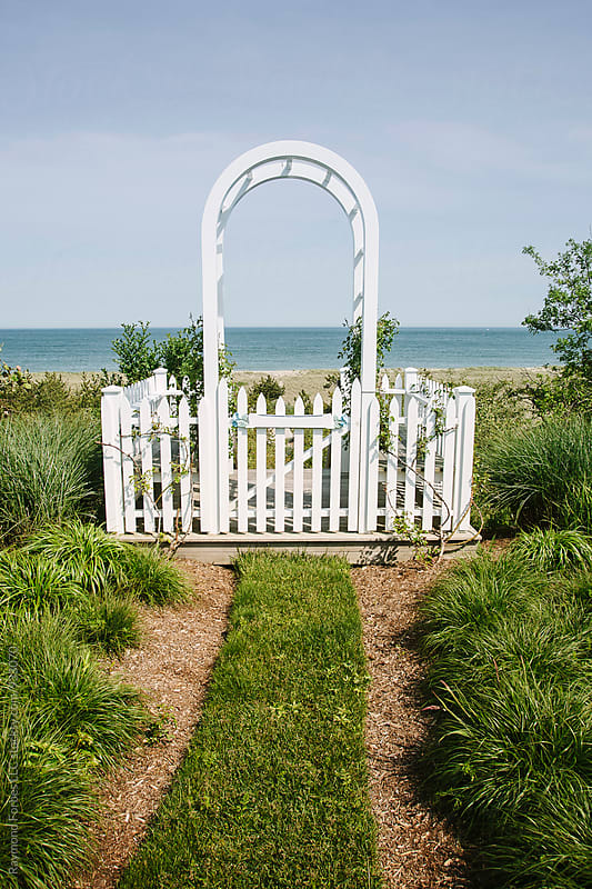 Beach Gate Nantucket Island by Raymond Forbes LLC for Stocksy United