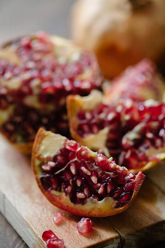 Pomegranate by Davide Illini for Stocksy United