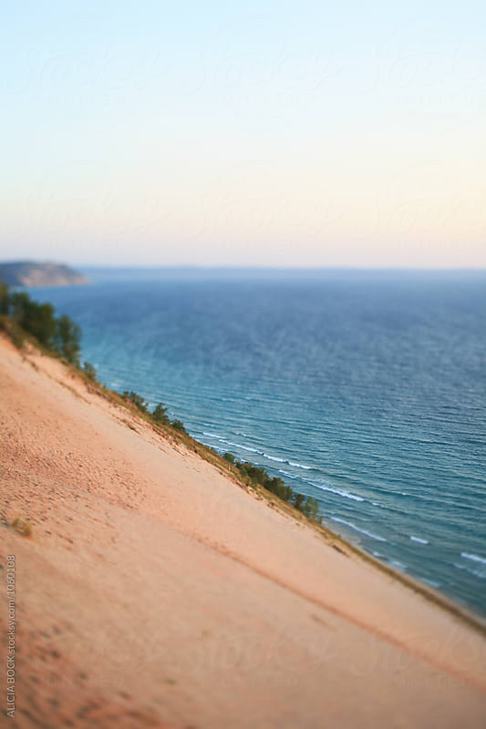 Looking Over Sleeping Bear Dunes National Lakeshore by ALICIA BOCK for Stocksy United