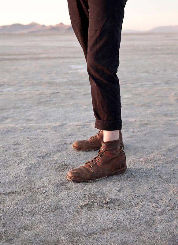 A Mans Legs by Carey Haider for Stocksy United