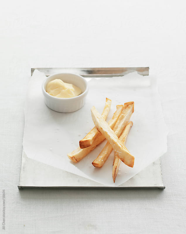 French Fries and Mayo by Jill Chen for Stocksy United