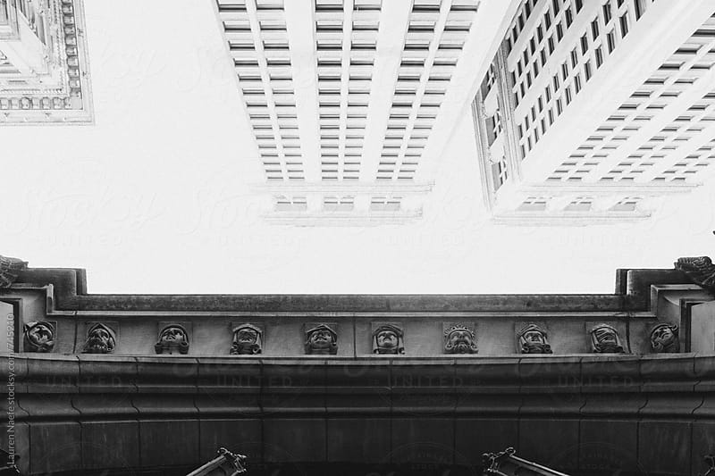 Beautiful architecture in New York City by Lauren Naefe for Stocksy United