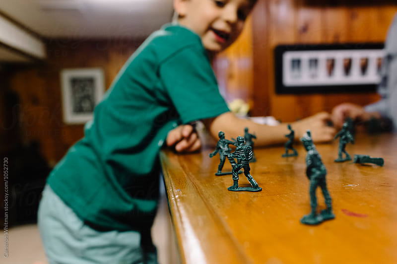 Toy Soldiers by Cameron Whitman for Stocksy United