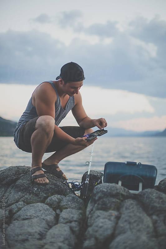 Fishing  by Luke Gram for Stocksy United