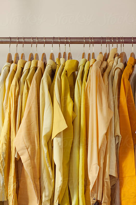 Yellow Shirts by Julien L. Balmer for Stocksy United