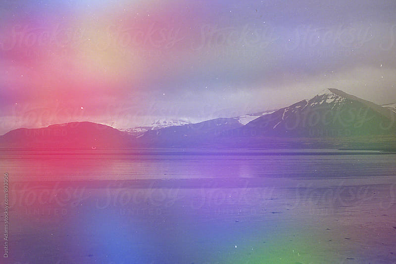 Icelandic Prism Burst  by Dustin Adams for Stocksy United