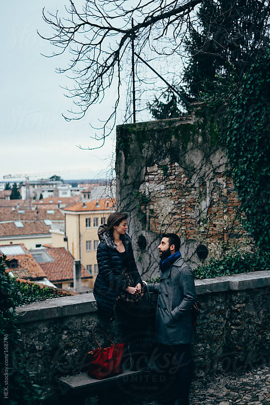 Young Couple Visiting an Italian City by HEX. for Stocksy United