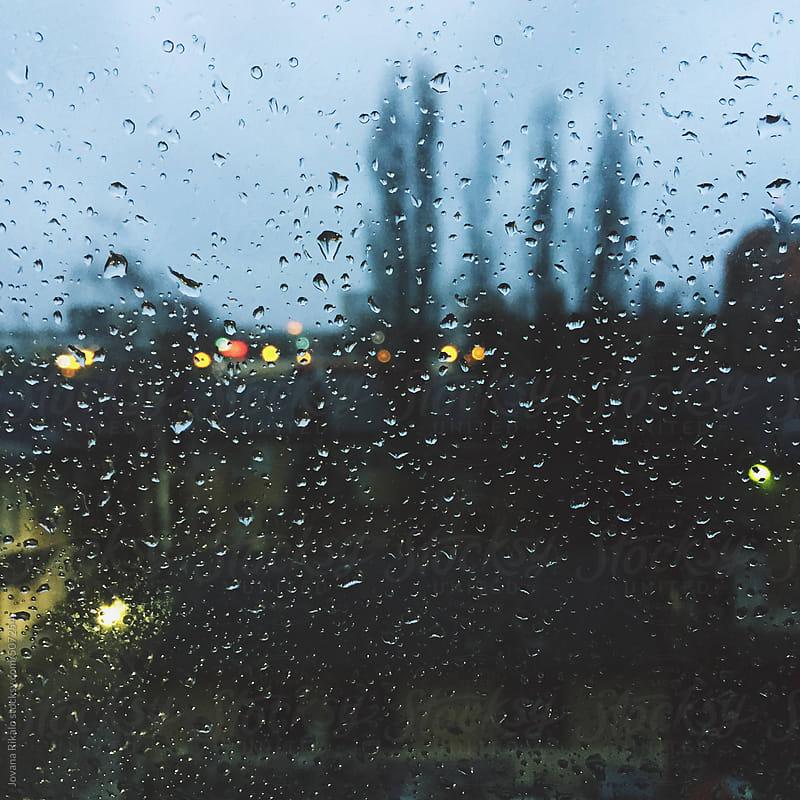 Rainy window by Jovana Rikalo for Stocksy United