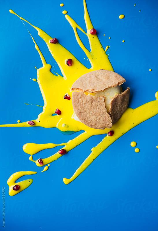 Delicious Vanilla Cake by Lumina for Stocksy United
