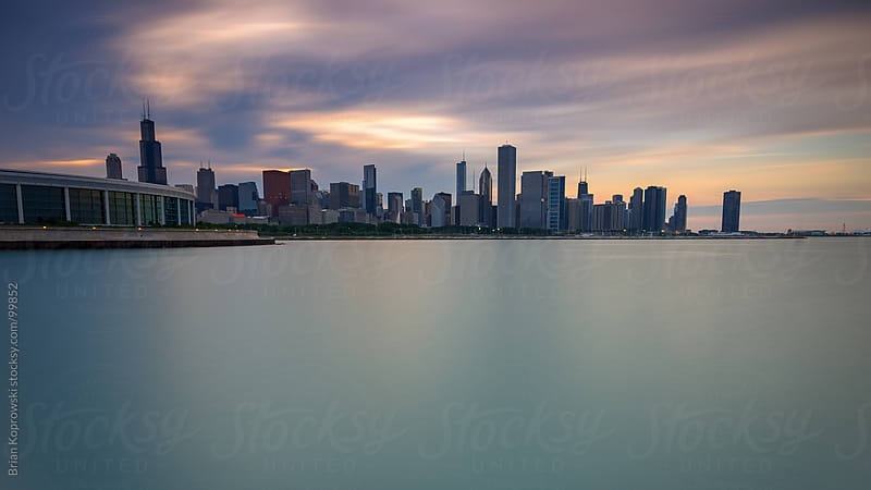 Chicago Skyline by Brian Koprowski for Stocksy United