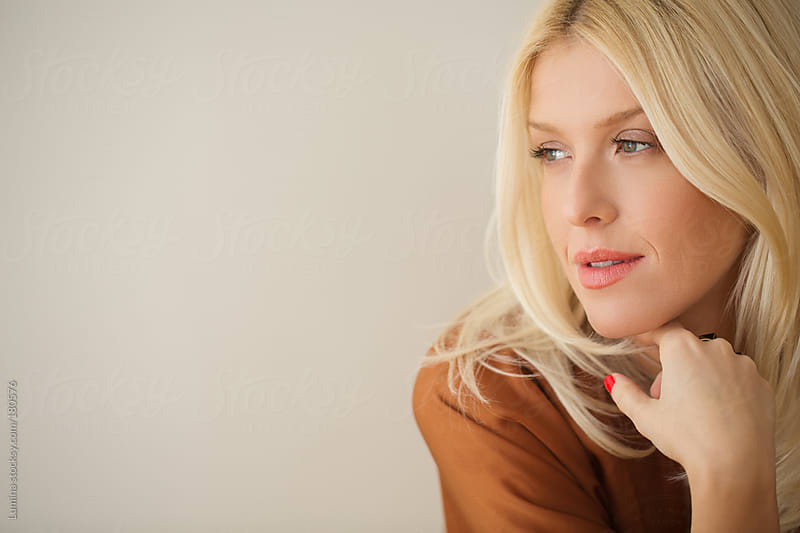 Gorgeous Blonde Woman by Lumina for Stocksy United