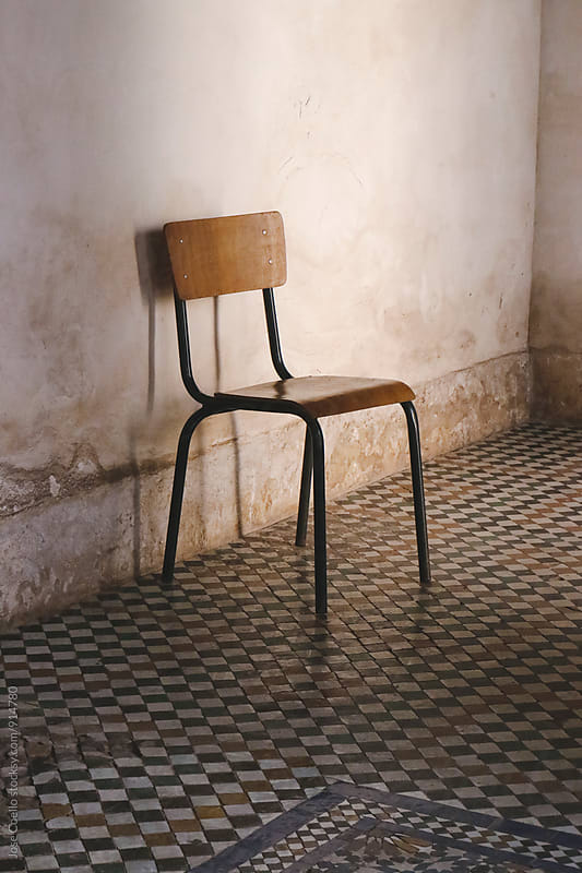 The chair by Jose Coello for Stocksy United