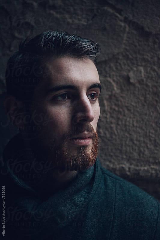 Portrait of a stylish man outdoors by Alberto Bogo for Stocksy United