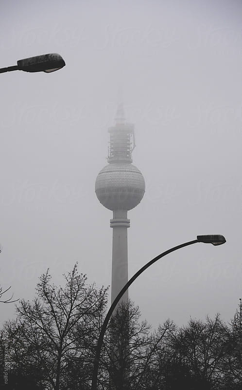 Fernsehturm, Berlin by rolfo for Stocksy United
