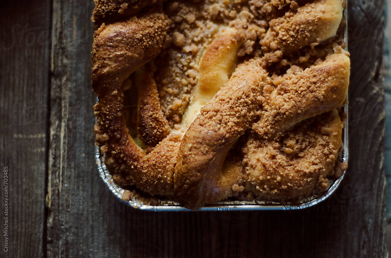 apple crumble  by Crissy Mitchell for Stocksy United