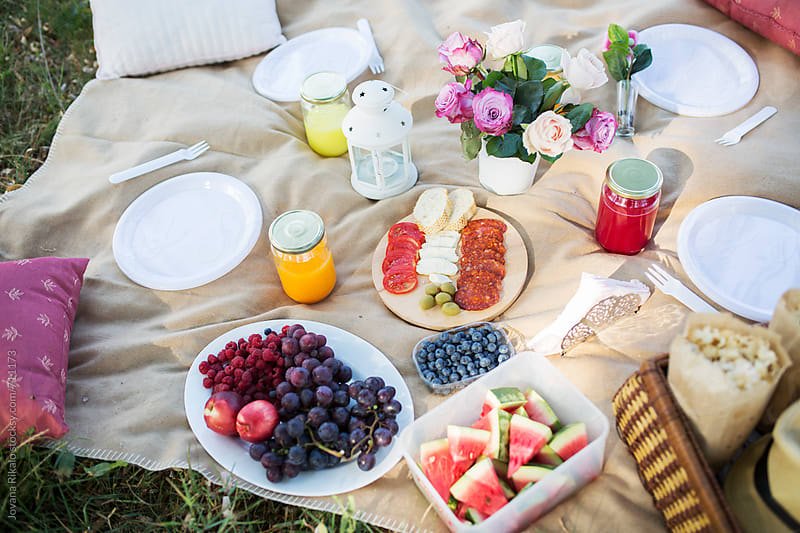 Picnic food by Jovana Rikalo for Stocksy United