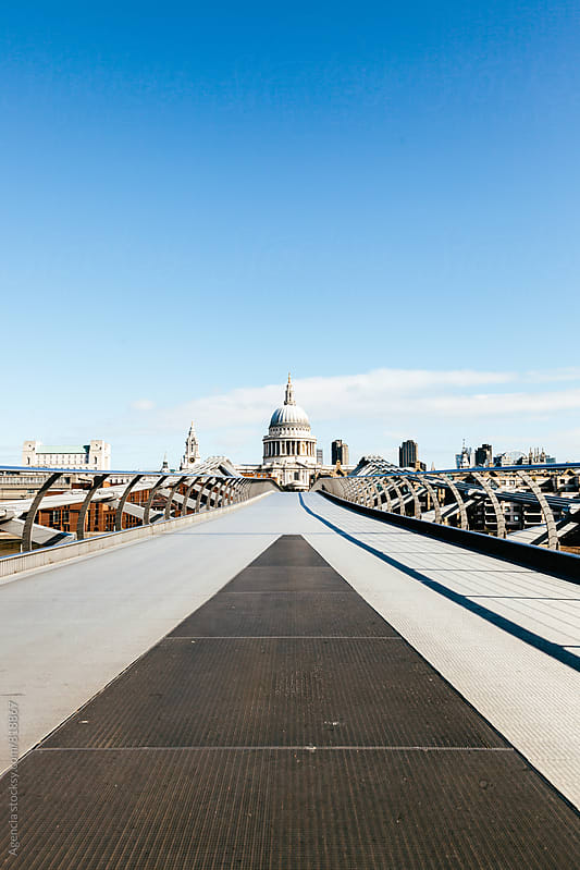 Millenium Bridge by Agencia for Stocksy United