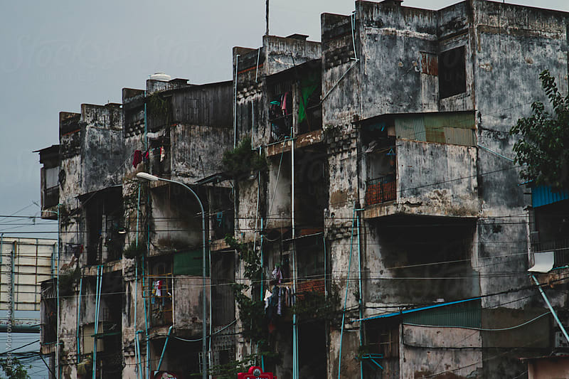 Buildings Phnom Penh Cambodia by Jesse Morrow for Stocksy United