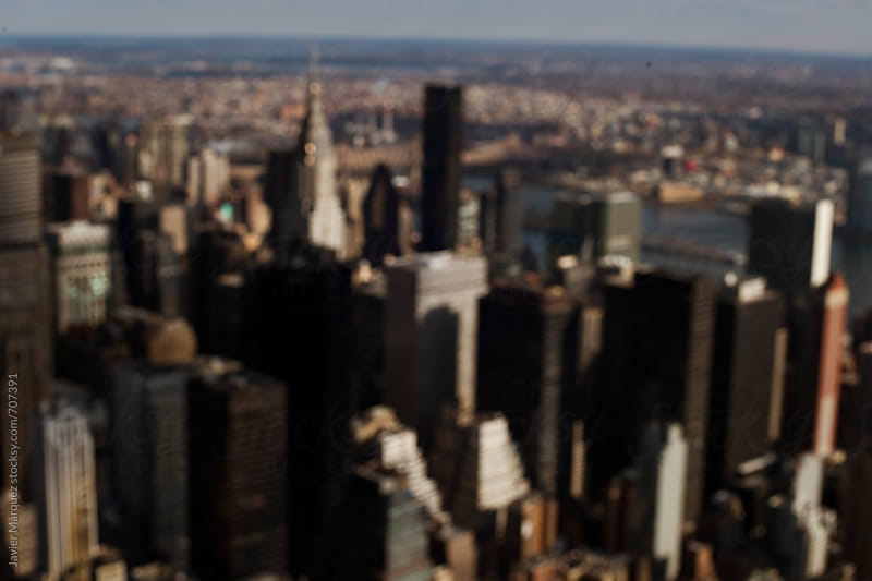View from the Empire State by Javier Márquez for Stocksy United