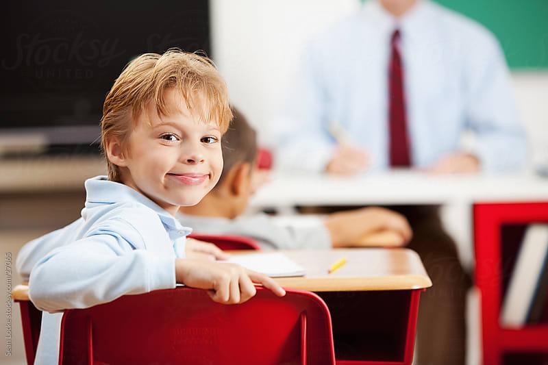 Classroom:  by Sean Locke for Stocksy United