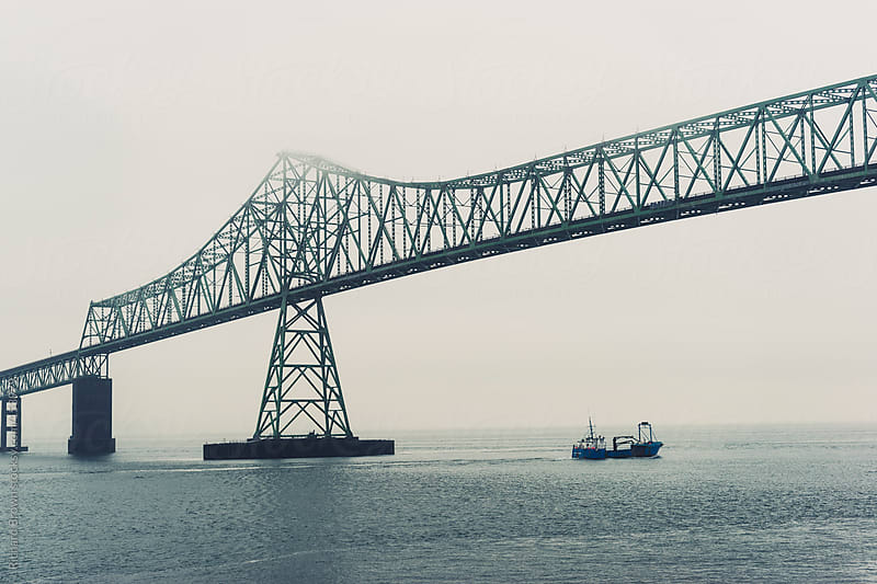 Astoria Bridge, Oregon by Richard Brown for Stocksy United