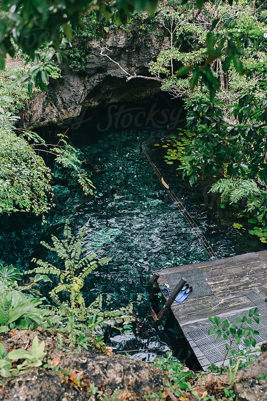 Secret Swimming Hole by Christian Gideon for Stocksy United