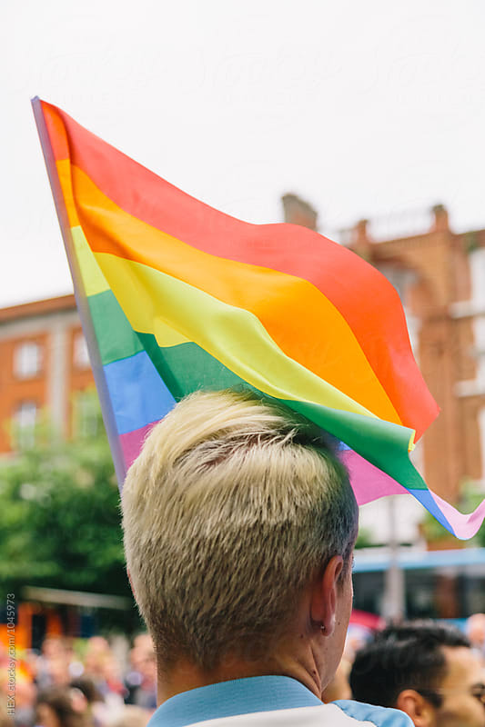 Gay Pride in Dublin by HEX. for Stocksy United