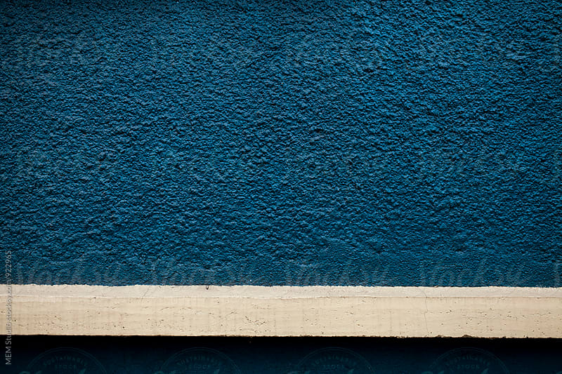 Blue wall by MEM Studio for Stocksy United