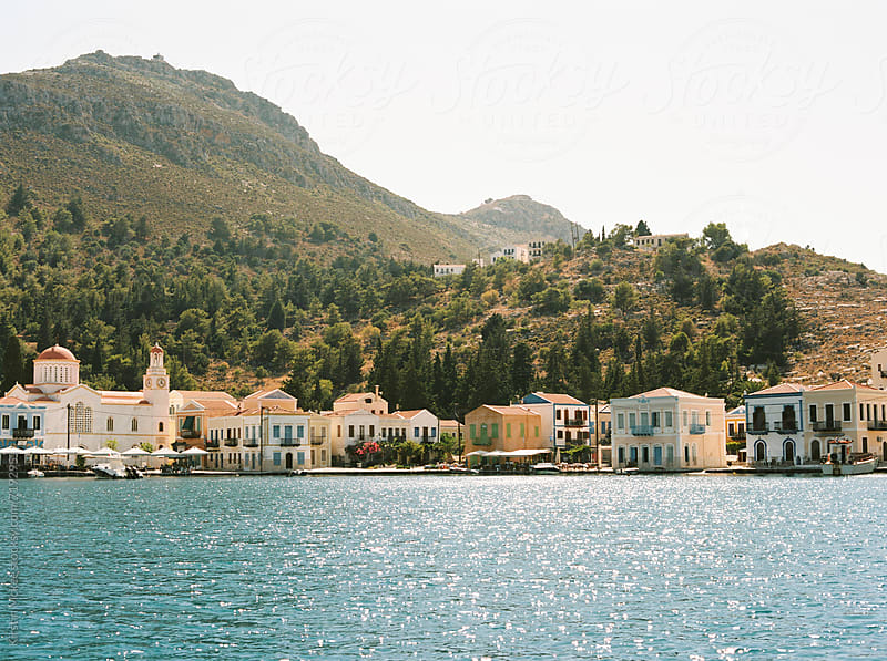 Kastellorizo Harbour by Kirstin Mckee for Stocksy United