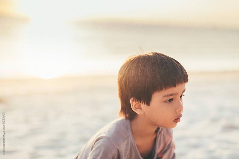 Portrait of a Boy by Lumina for Stocksy United