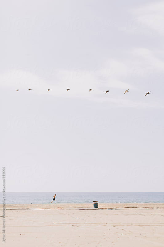 Santa Monica Beach by Dylan M Howell Photography for Stocksy United