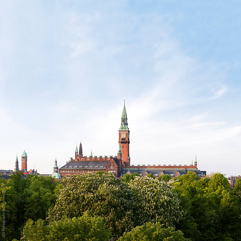 The City Hall of Copenhagen - Danmark by IDS Photography for Stocksy United