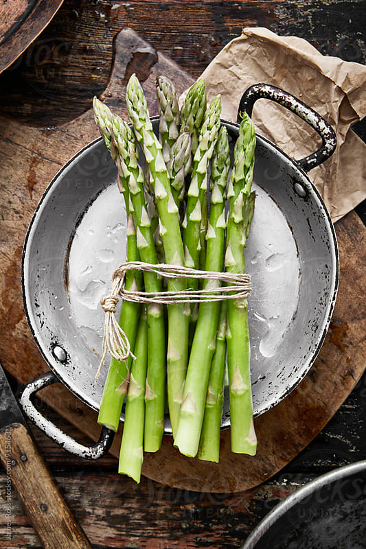 Fresh asparagus by James Ross for Stocksy United