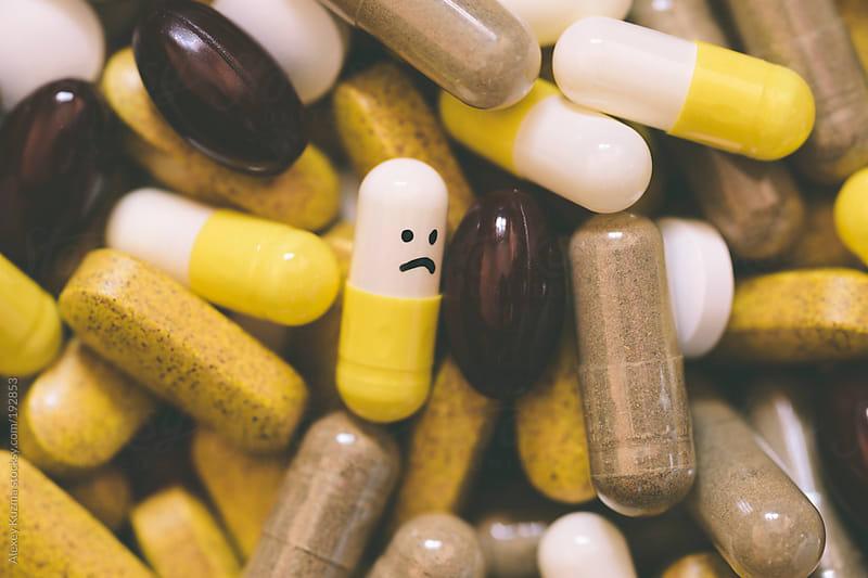 pills by Alexey Kuzma for Stocksy United