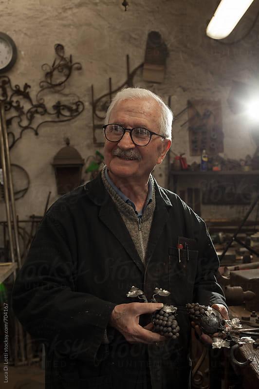 Blacksmith workshop, Italian craftsmanship. by Luca Di Lotti for Stocksy United