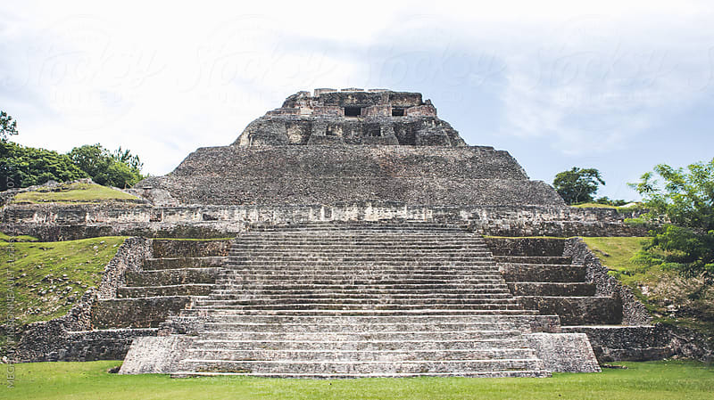 Ancient Mayan Temple  by Meg Pinsonneault for Stocksy United