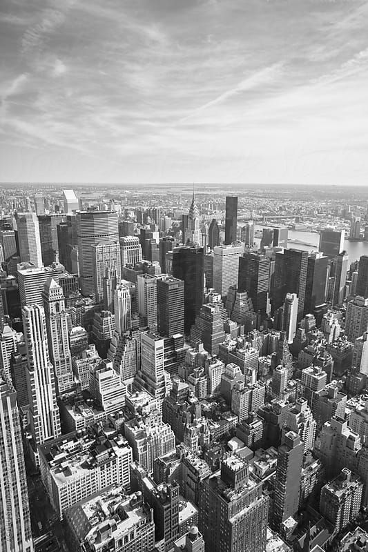 New York Black and White by ACALU Studio for Stocksy United