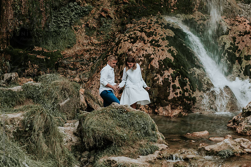 Couple in love  by Natasa Kukic for Stocksy United