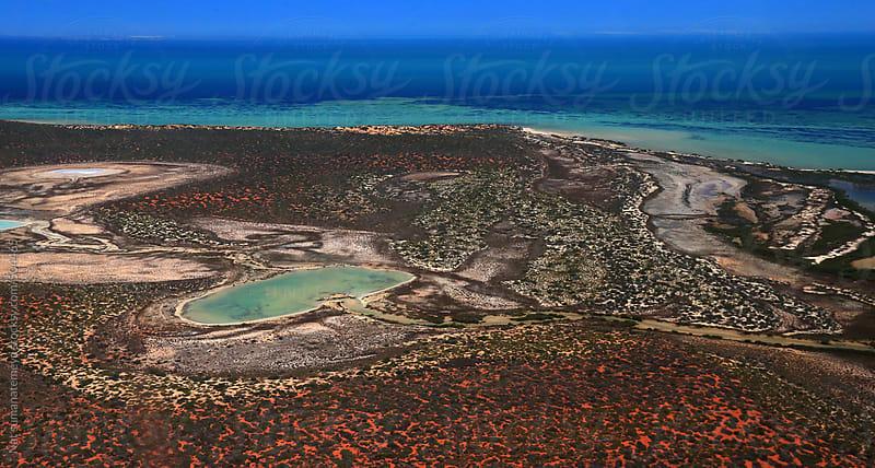 salt lake  desert  and sea by Nat sumanatemeya for Stocksy United